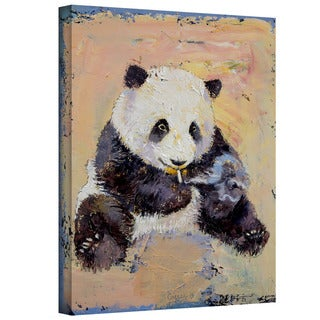 Michael Creese 'Cigarette Break' Gallery-Wrapped Canvas