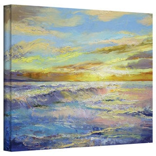 Michael Creese 'Florida Sunrise' Gallery-Wrapped Canvas Art