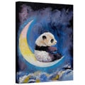 Michael Creese 'Crescent Moon' Gallery-Wrapped Canvas Art