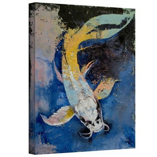 Art Wall Michael Creese 'Dragon Koi' Gallery-Wrapped Canvas