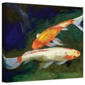 Art Wall Michael Creese 'Feng Shui Koi Fish' Gallery-Wrapped Canvas