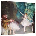 Edgar Degas 'Ballet Rehearsal' Gallery-Wrapped Canvas