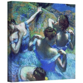 Art Wall Edgar Degas 'Blue Dancers' Gallery-Wrapped Canvas