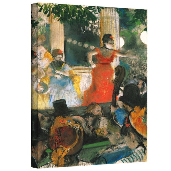Art Wall Edgar Degas 'Cafe Concert at Les Ambassadeurs' Gallery-Wrapped Canvas