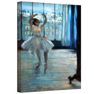 Art Wall Edgar Degas 'Dancer in Front of a Window (Dancer at the Photographer's Studio)' Gallery-Wrapped Canvas