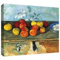 Art Wall Paul Cezanne 'Still Life of Apples and Biscuits' Gallery-Wrapped Canvas