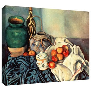 Art Wall Paul Cezanne 'Still Life with Apples II' Gallery-Wrapped Canvas