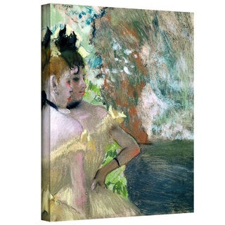 Edgar Degas 'Dancers in the Wings' Gallery-Wrapped Canvas Art