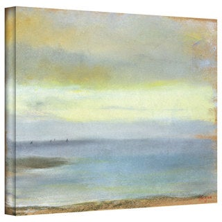 Edgar Degas 'Marine Sunset' Gallery-Wrapped Canvas Art