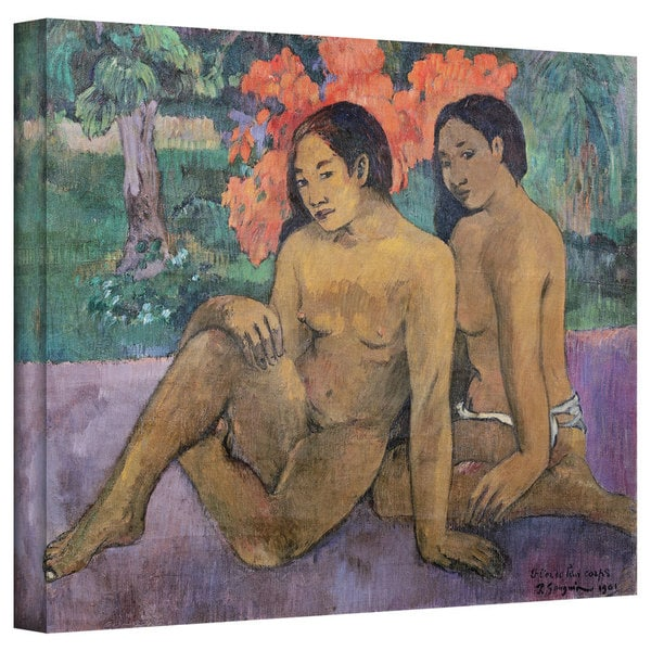 Paul Gauguin 'And the Gold of Their Bodies' Gallery-Wrapped Canvas Art
