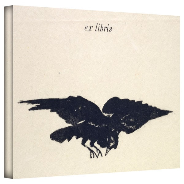 Art Wall Edouard Manet 'Le Corbeau (The Raven)' Gallery-wrapped Canvas