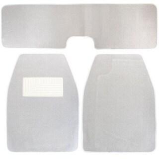 Medium Grey Carpet Floor Mats (Set of 3)