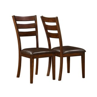 Dark Cherry 40-inch Side Chair (Set of 2)