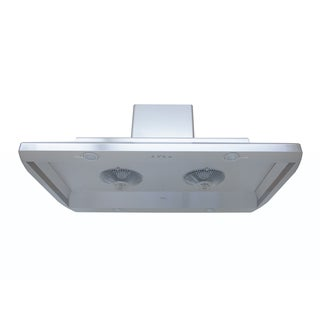 Kobe Premium IS-123 Series Stainless Steel 36-inch Recirculating Island Range Hood
