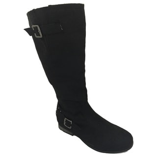 Women's Faux Suede Knee-high Boots