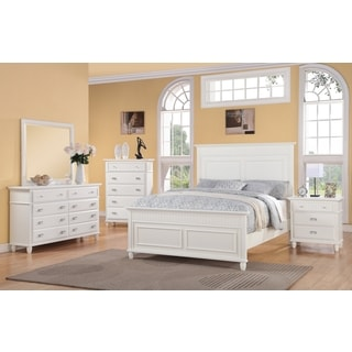Spelding White 5-pc Bedroom Set