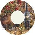 Wine and Poppies Wine Trivet