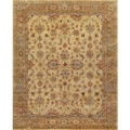 Handmade Hanna Persian Style Gold Brown Wool Rug (9' x 12')
