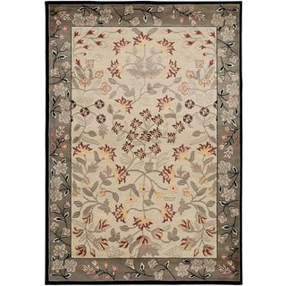 Power Loomed Handicraft Imports Gibraltar Ivory Area Rug (9'2 X 12'6)