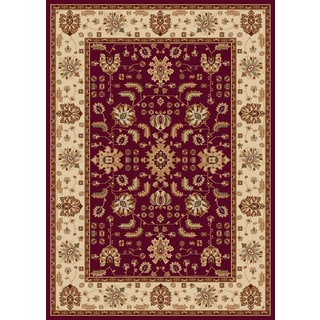 New Tradition Red Oriental Rug (5'2 x 7'2)