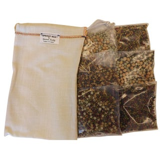 The Sprout House Hemp Sprouting Bag Bean/ Grain Kit (Pack of 12)