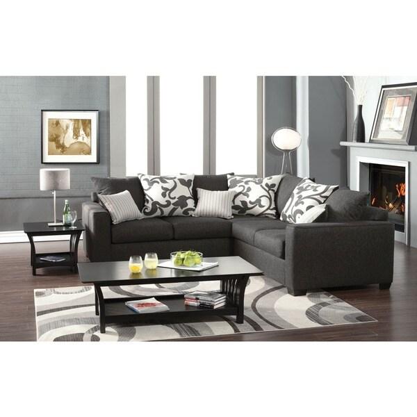 Cranbrook Sectional Sofa Set With Accent Pillows