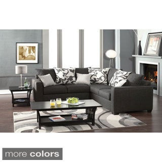 Cranbrook Sectional Sofa Set with Accent Pillows