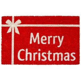 Christmas Present Print Non-slip Coir Doormat