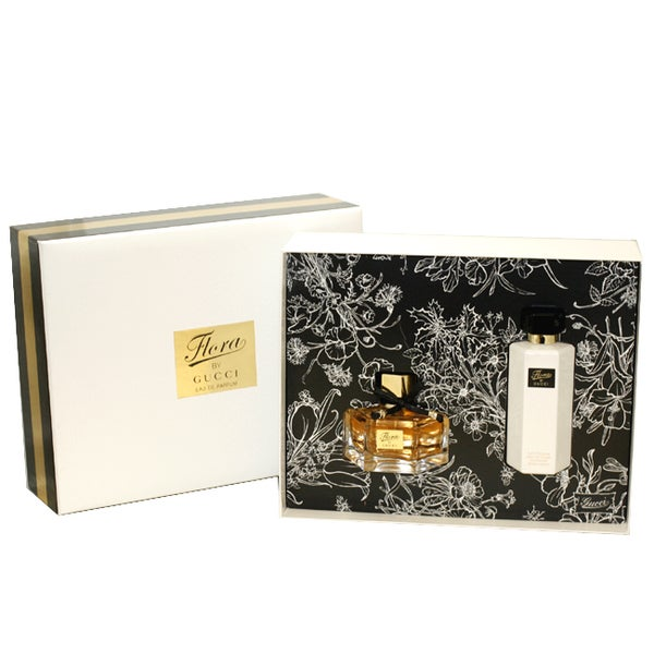 Gucci Flora Women's 2-piece. Gift Set ( Eau de Parfum Spray / 50 Ml + Perfumed Body Lotion 3.3-ounce