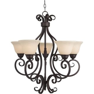 Manor 5-light Oil Rubbed Bronze Chandelier