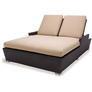 Maxine All Weather Wicker Double Chaise Lounger