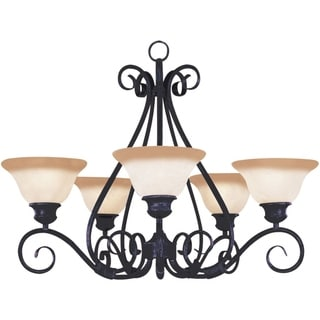 Pacific Bronze 5-light Chandelier
