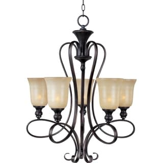 Infinity 5-light oil Rubbed Bronze Chandelier