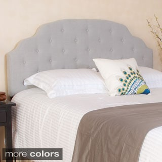 Christopher Knight Home Allyson Adjustable Button Tufted Fabric Headboard
