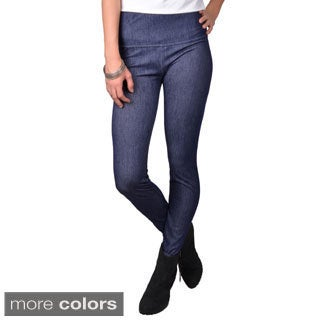 Journee Collection Junior's Stretchy High Waist Leggings