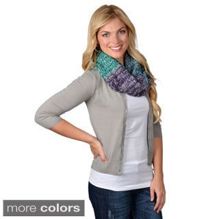 Journee Collection Women's Knitted Fashion Scarf