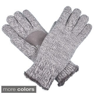 Isotoner Women's Microluxe Lined Knit Gloves