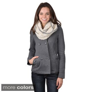 Journee Collection Women's Braided Knit Figure 8 Scarf