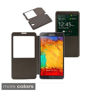 Gearonic Samsung Galaxy Note 3 PU Leather Flip Case