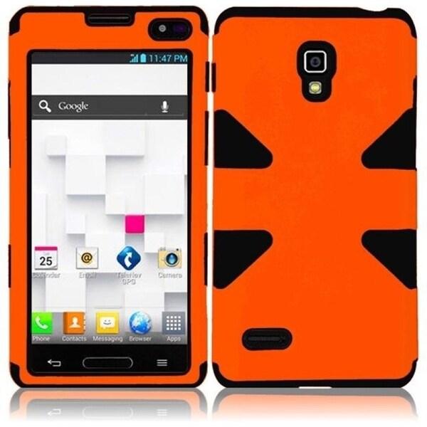 BasAcc Orange/ Black Case for LG Optimus L9 P769/ MS769