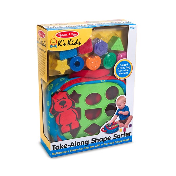 Melissa & Doug Take-Along Shape Sorter 12132842