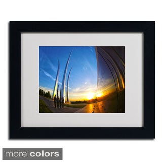 CATeyes 'Air Force Memorial 15' Framed Matted Art