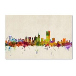 Michael Tompsett 'San Francisco California' Canvas Art