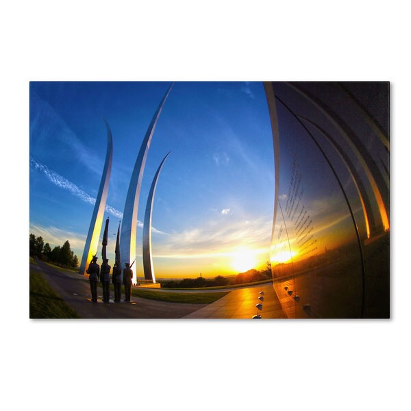 CATeyes 'Air Force Memorial 15' Canvas Art