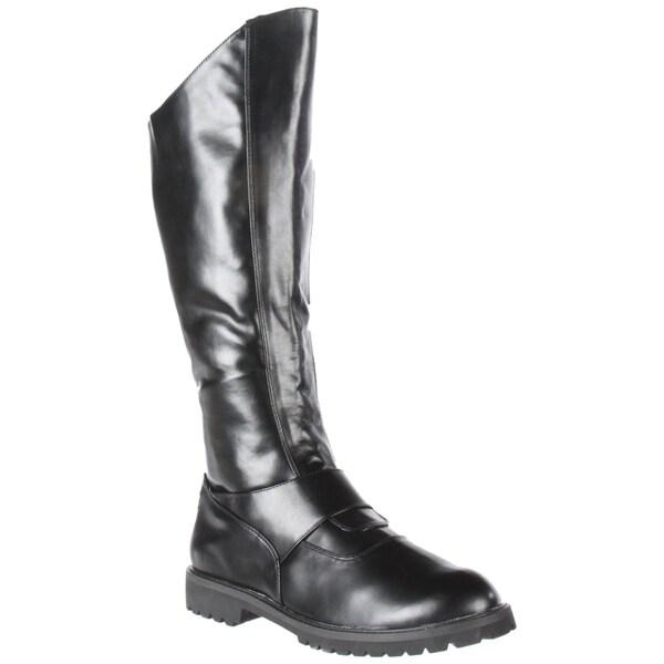 Funtasma Men's 'Gotham-100' Black Knee-high Boots