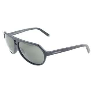 Dsquared 058 02A' Black Plastic Aviator Sunglasses