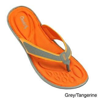 Women's Memory Foam Insole Flip Flop Sandals