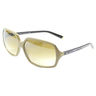Dsquared 035 57F' Beige/ Black Oversize Sunglasses