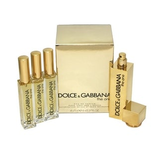 Dolce & Gabbana 'The One' Women's 0.37-ounce Eau de Parfum Purse Spray with 3 Refills