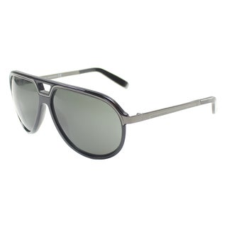 'Dsquared 060 01A' Black Aviator Sunglasses
